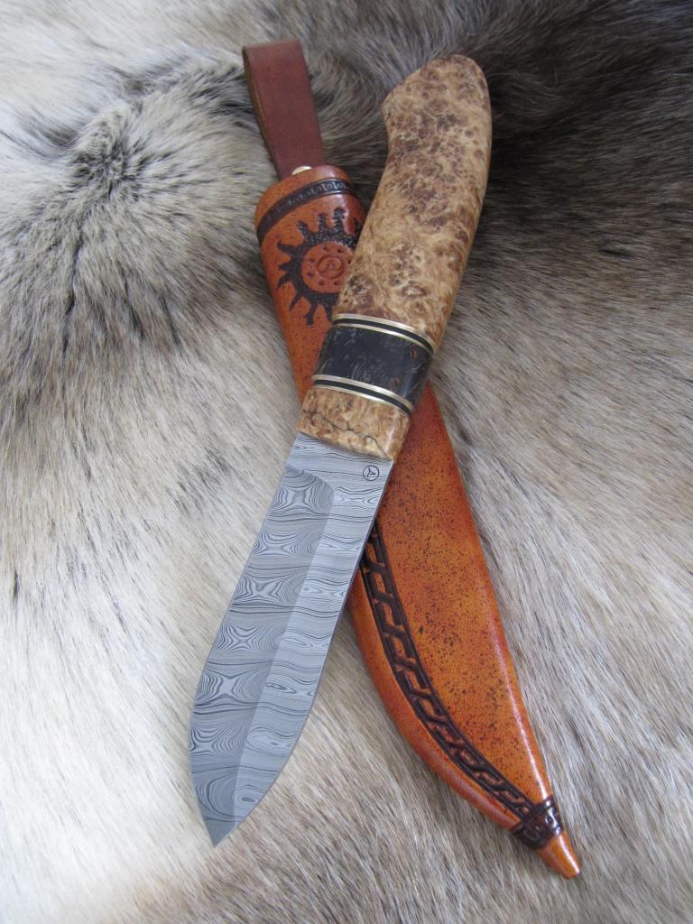 Moose skinner