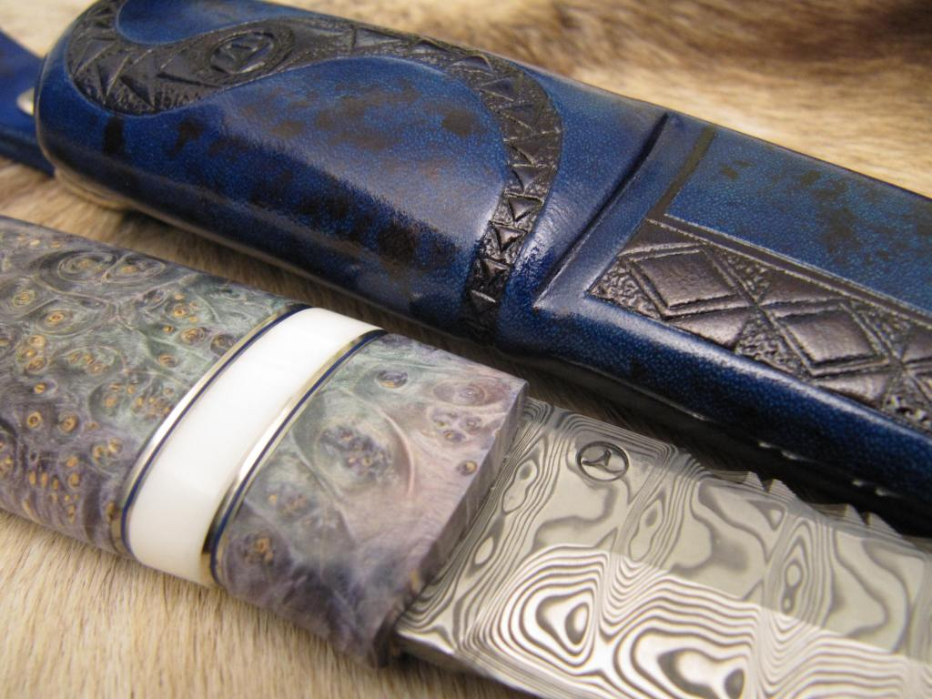 damasteel odins eye box elder burl corian nickelsilver decorations3