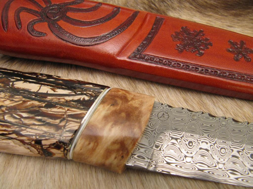 ladder damascus curly birch mammoth tusk2